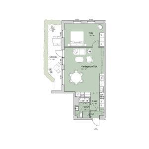 Ferrum lägenhet a1004 planlösning